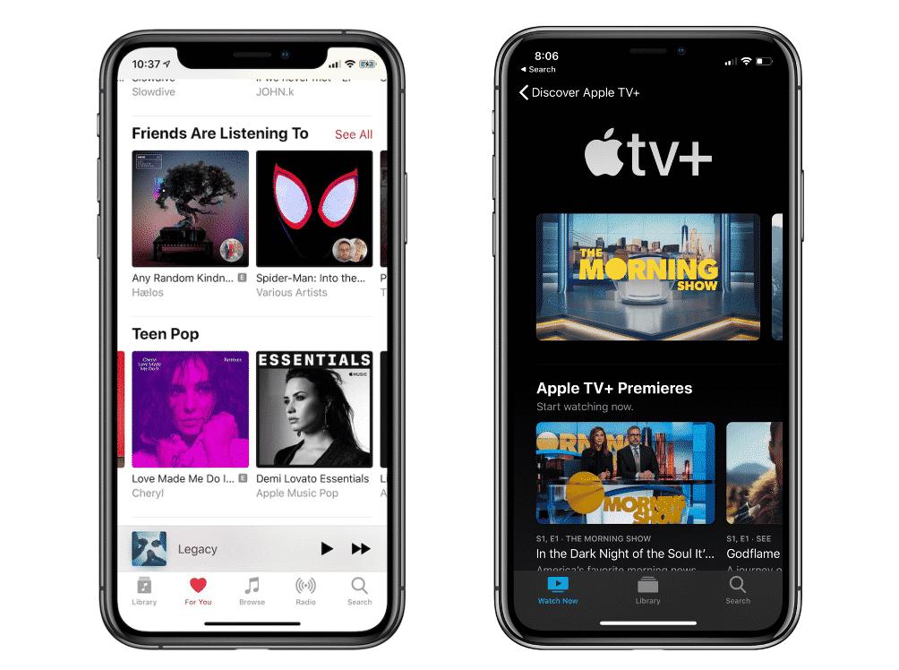 TV+ music